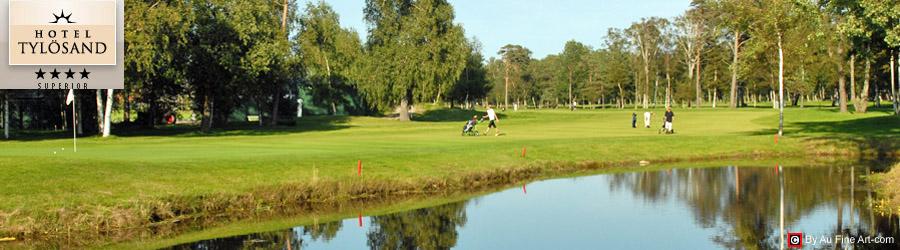 golf och spapaket